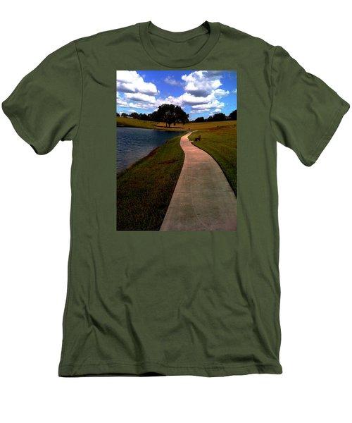 Private Park,fl. Men's T-Shirt (Athletic Fit)