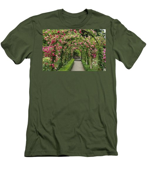 Rose Promenade   Men's T-Shirt (Athletic Fit)