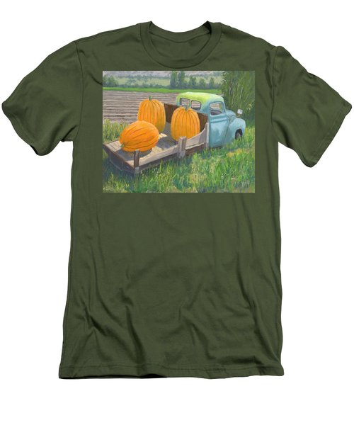 Pumpkin Truck Men's T-Shirt (Athletic Fit)