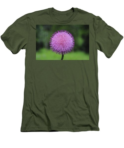 Purple Fuzz Men's T-Shirt (Athletic Fit)