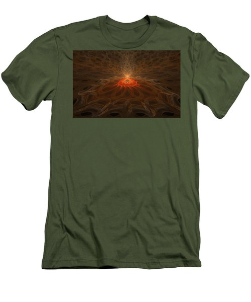 Men's T-Shirt (Slim Fit) featuring the digital art Pyre by GJ Blackman