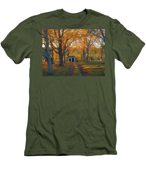 Men's T-Shirt (Slim Fit) featuring the photograph Quivet Morning by Dianne Cowen