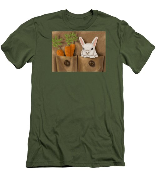 Rabbit Hole Men's T-Shirt (Slim Fit) by Veronica Minozzi