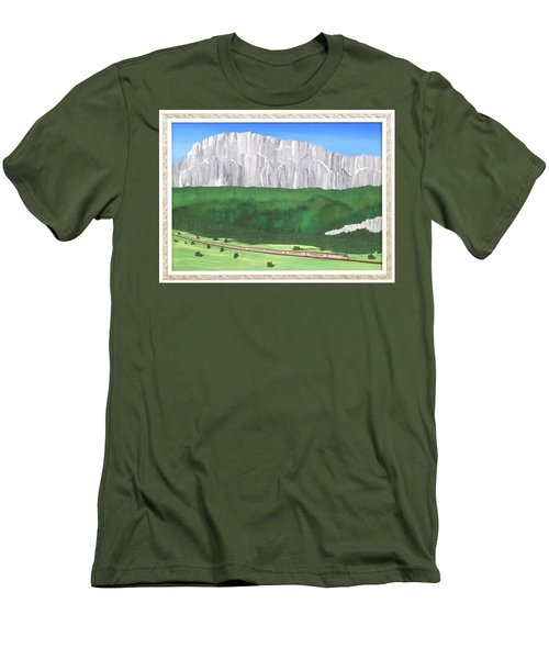 Railway Adventure Men's T-Shirt (Athletic Fit)