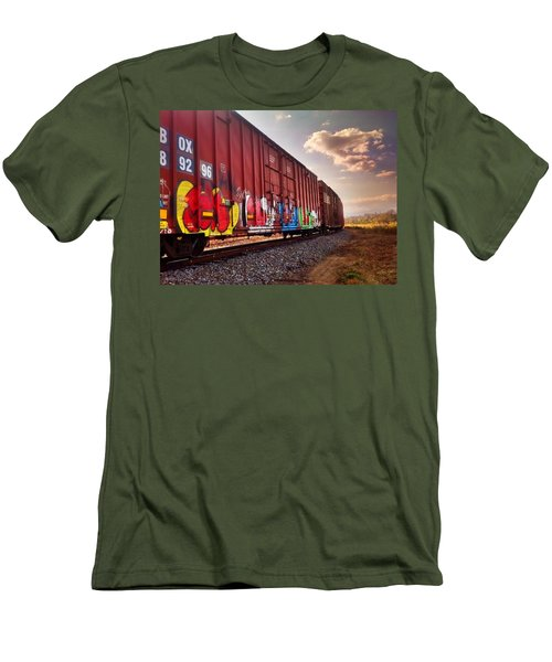 Railways Men's T-Shirt (Athletic Fit)