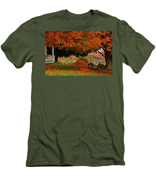 Raking's All Done... Men's T-Shirt (Athletic Fit)