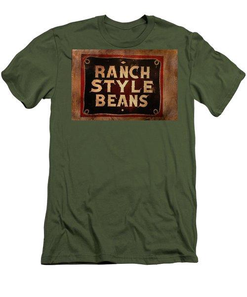 Ranch Style Beans Men's T-Shirt (Slim Fit) by Toni Hopper