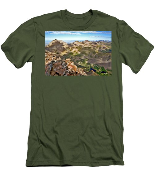Reason To Climb Men's T-Shirt (Athletic Fit)