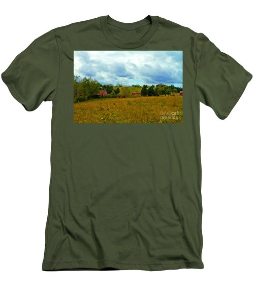 Red Barn Six Men's T-Shirt (Athletic Fit)