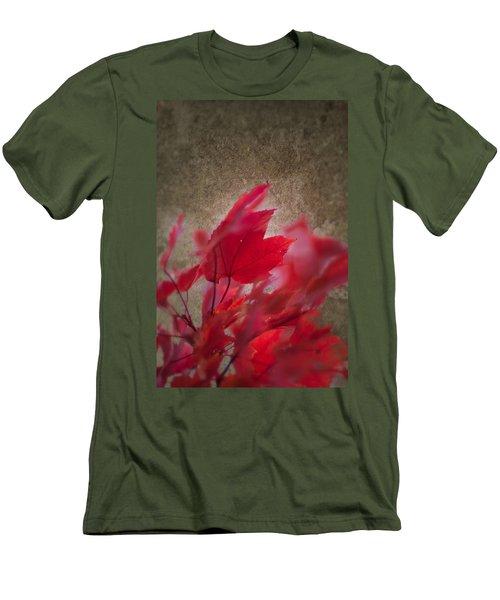 Red Maple Dreams Men's T-Shirt (Athletic Fit)