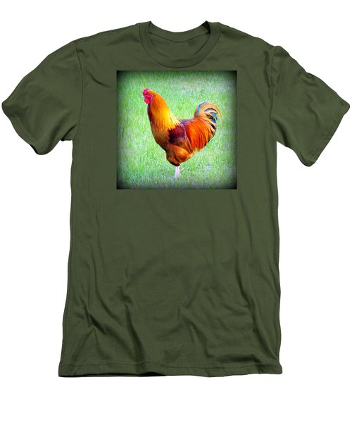 Red Rooster Men's T-Shirt (Athletic Fit)
