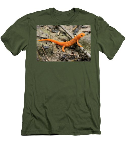 Red-spotted Newt Men's T-Shirt (Athletic Fit)