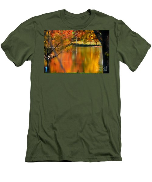 Reflection  Of My Thoughts  Autumn  Reflections Men's T-Shirt (Athletic Fit)