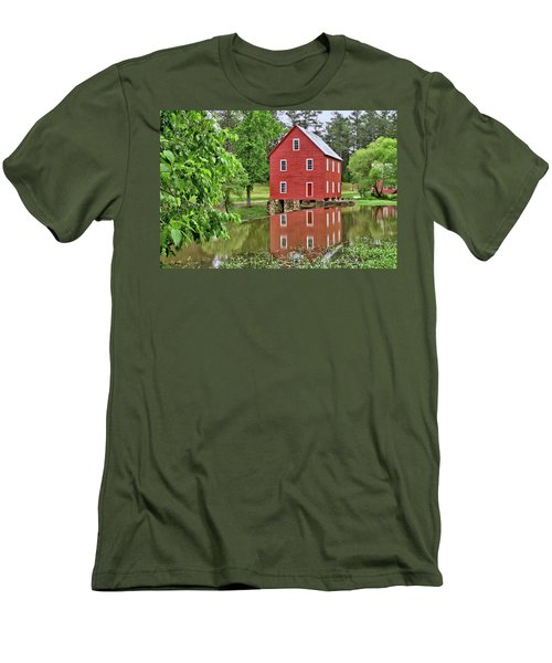 Reflections Of A Retired Grist Mill Men's T-Shirt (Athletic Fit)