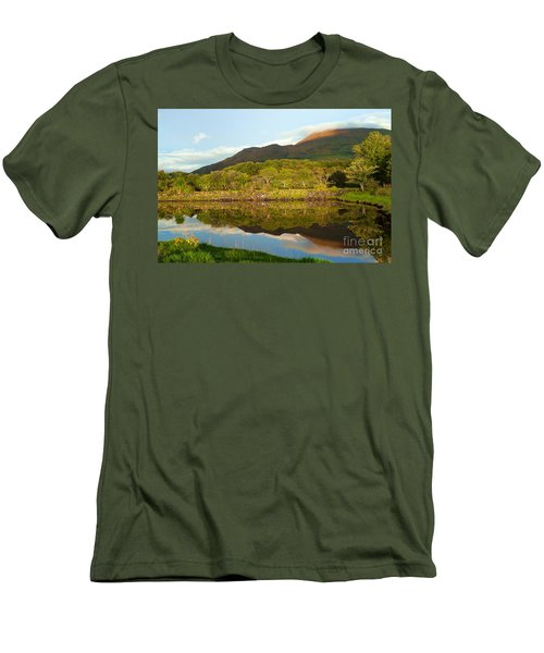 Reflections On Loch Etive Men's T-Shirt (Athletic Fit)
