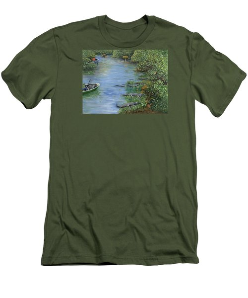 Refuge? Men's T-Shirt (Athletic Fit)