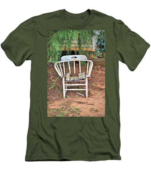 Men's T-Shirt (Slim Fit) featuring the photograph Retired by Gordon Elwell