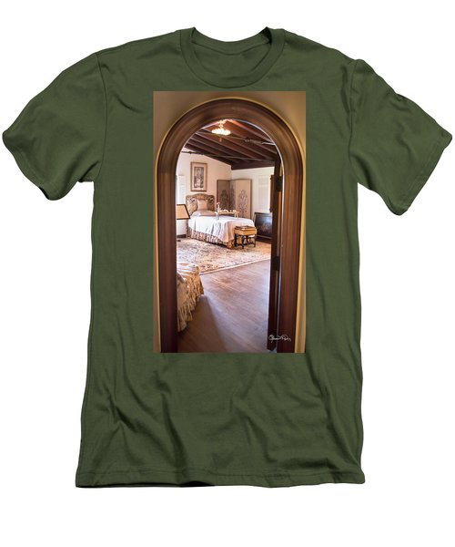 Retreat To The Past Men's T-Shirt (Athletic Fit)