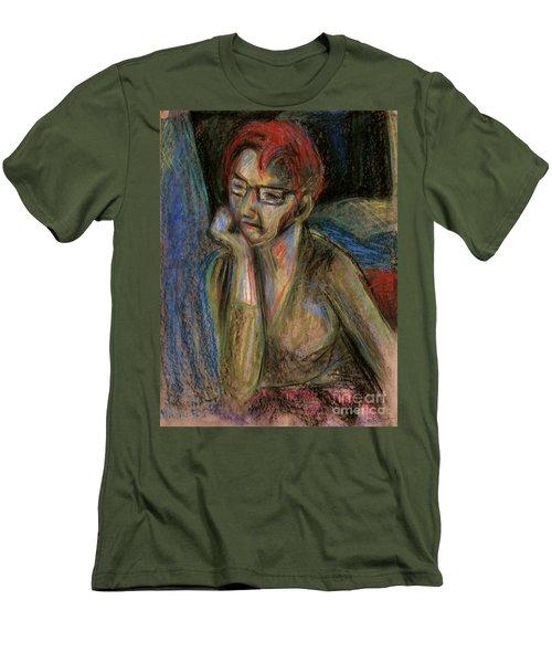 Retrospection - Woman Men's T-Shirt (Athletic Fit)