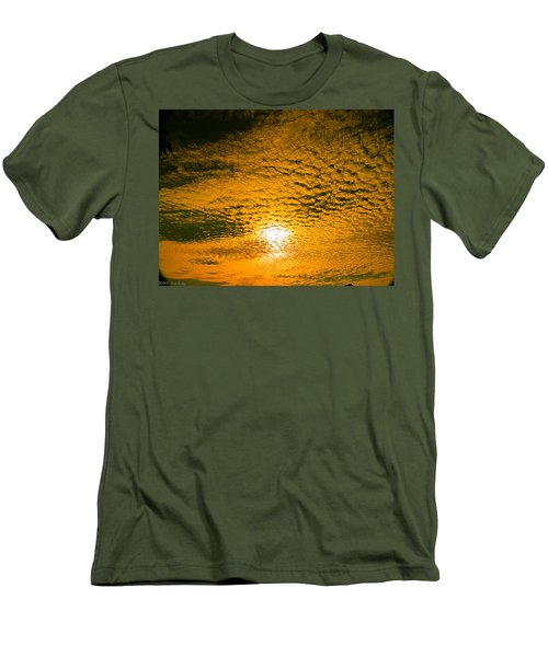 Ripples In The Sky Men's T-Shirt (Athletic Fit)