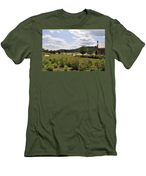 Men's T-Shirt (Slim Fit) featuring the photograph Road Trip 2012 #2 by Verana Stark