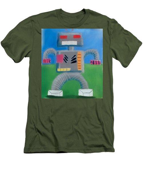 Metallic Men's T-Shirt (Slim Fit) by Joshua Maddison