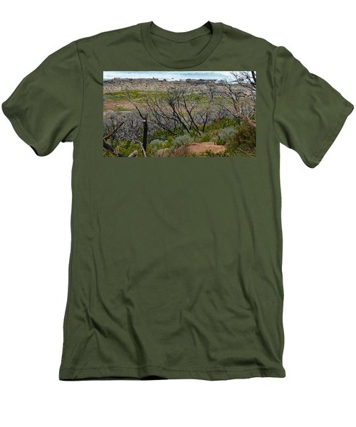 Rocky Outcrop Men's T-Shirt (Athletic Fit)