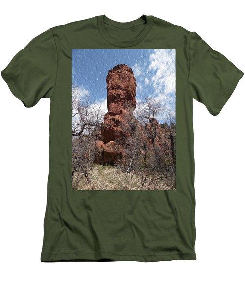 Rocky Totem Men's T-Shirt (Athletic Fit)