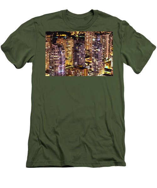 Men's T-Shirt (Slim Fit) featuring the photograph Romance In Yaletown Mcdxxxi by Amyn Nasser