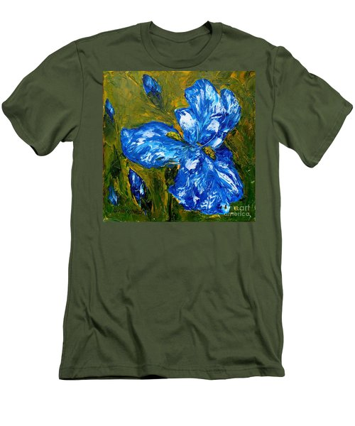 Romantic Iris Men's T-Shirt (Athletic Fit)