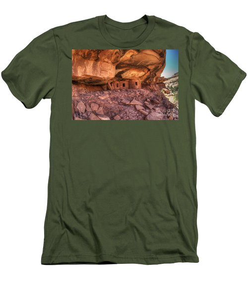 Roof Falling In Ruin 2 Men's T-Shirt (Athletic Fit)