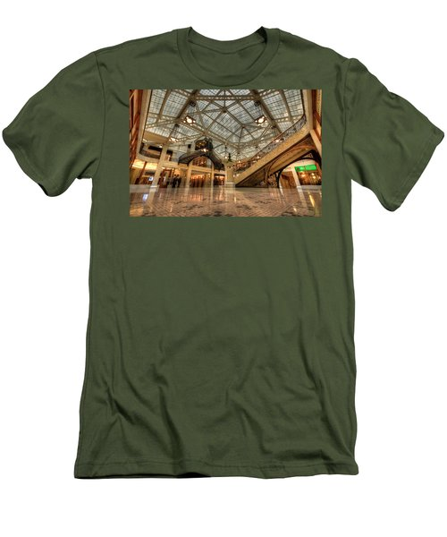 Rookery Building Main Lobby And Atrium Men's T-Shirt (Athletic Fit)