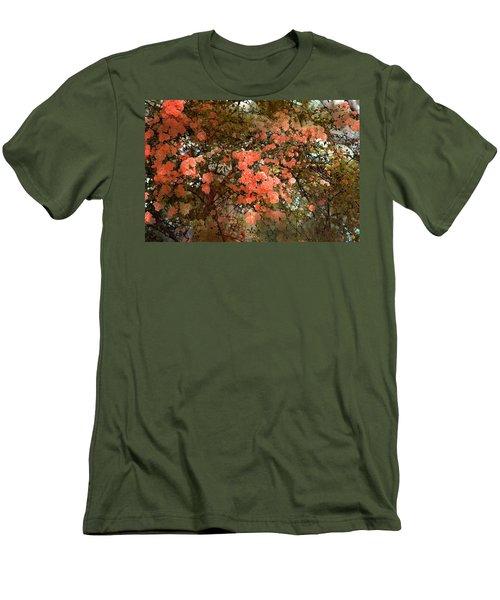 Rose 180 Men's T-Shirt (Slim Fit) by Pamela Cooper