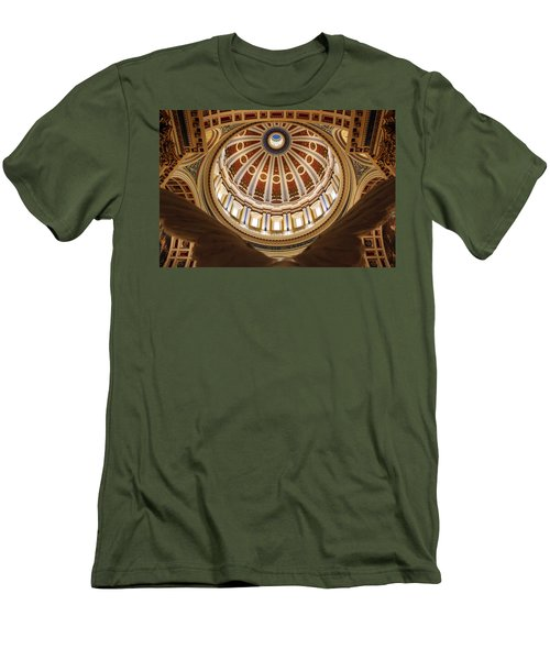 Rotunda Dome On Wings Men's T-Shirt (Athletic Fit)