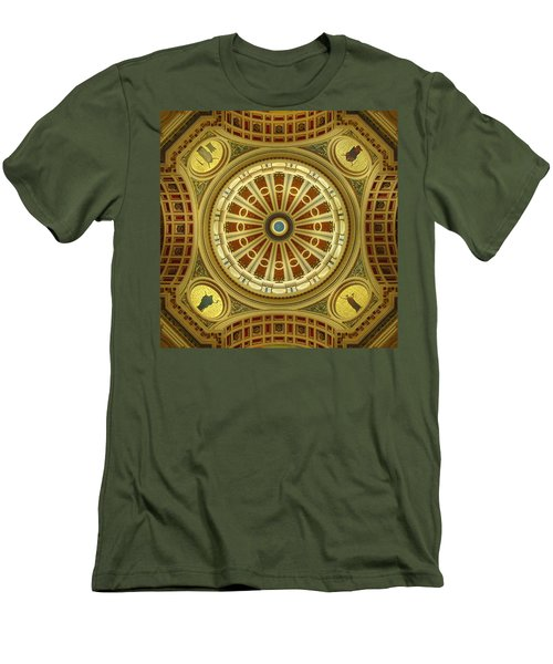 Men's T-Shirt (Slim Fit) featuring the photograph Rotunda by Joseph Skompski