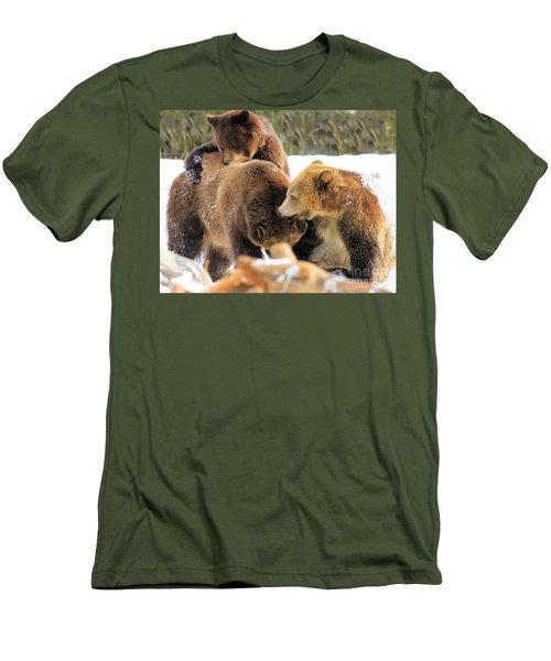 Rough-housing Men's T-Shirt (Athletic Fit)