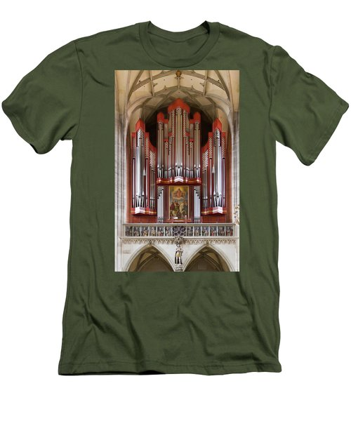Royal Red King Of Instruments Men's T-Shirt (Athletic Fit)