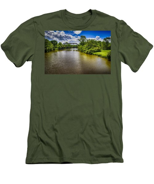 Men's T-Shirt (Slim Fit) featuring the photograph Royal River by Mark Myhaver