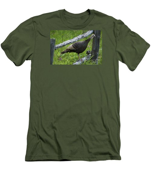 Rural Adventure Men's T-Shirt (Slim Fit) by Nina Stavlund