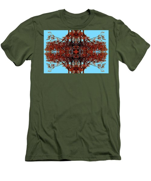 Men's T-Shirt (Slim Fit) featuring the photograph Rust And Sky 3 - Abstract Art Photo by Marianne Dow