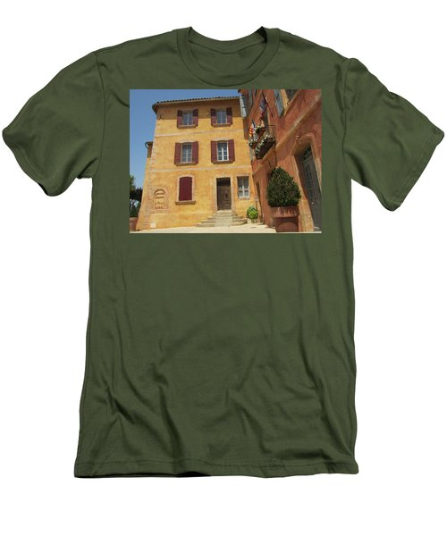 Men's T-Shirt (Slim Fit) featuring the photograph Rustic Charm by Pema Hou