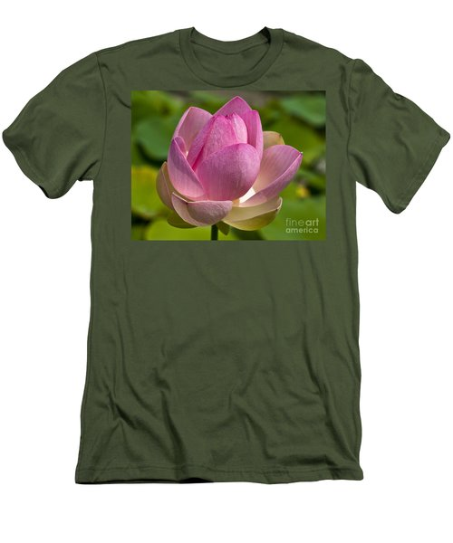 Sacred Lotus Men's T-Shirt (Athletic Fit)
