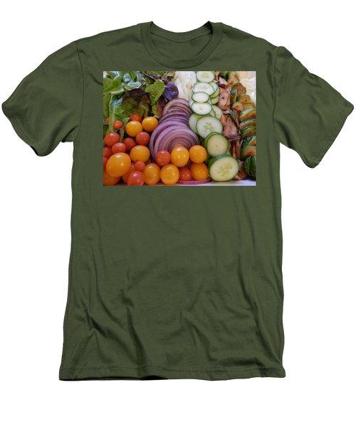 Salad Men's T-Shirt (Slim Fit) by Pema Hou