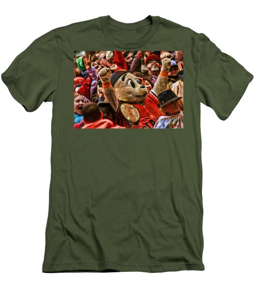 San Francisco Giants Mascot Lou Seal Men's T-Shirt (Athletic Fit)