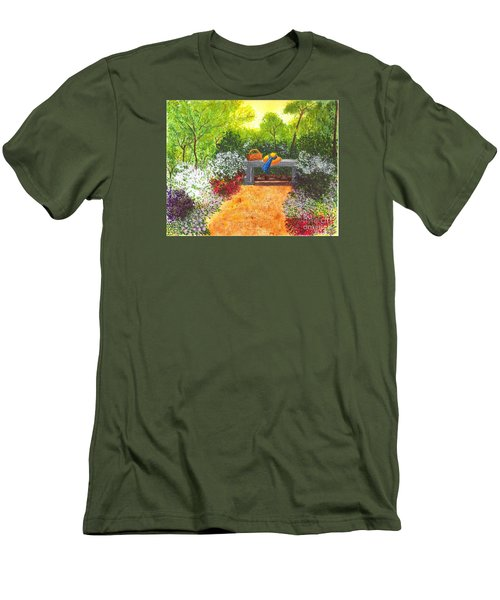 Sanctuary Men's T-Shirt (Slim Fit) by Patricia Griffin Brett