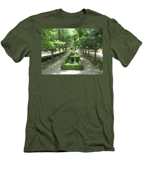 Men's T-Shirt (Slim Fit) featuring the photograph Sanctuary by Pema Hou