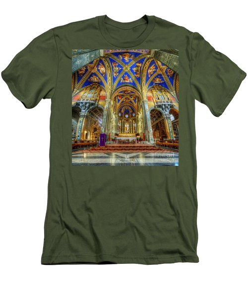 Santa Maria Sopra Minerva 2.0 Men's T-Shirt (Athletic Fit)