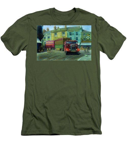Scammell Showtrac Men's T-Shirt (Athletic Fit)
