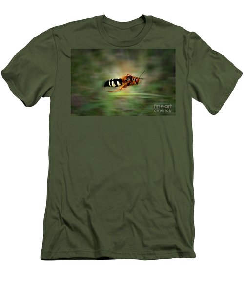 Men's T-Shirt (Slim Fit) featuring the photograph Scouting Mission by Thomas Woolworth