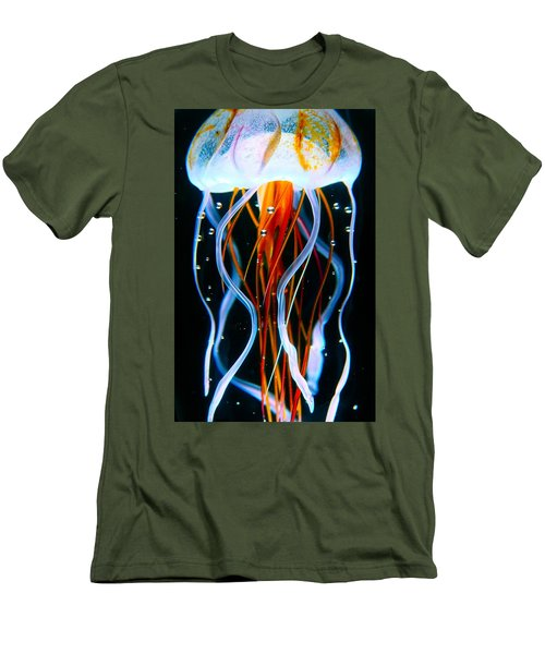 Sea Nettle Jellyfish Men's T-Shirt (Athletic Fit)